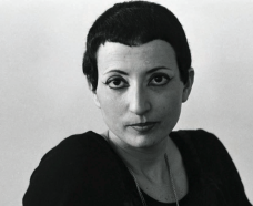 "Hélène Cixous, French feminist theorist, professor, poet, literary critic (b. 1937). Came to prominence following her essay ""The Laugh of the Medusa"""