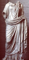 Munich Glyptoteck, after 14 CE: statue of Livia wearing the stola, Barbara McManus: http://www.vroma.org/~bmcmanus/clothing2.html