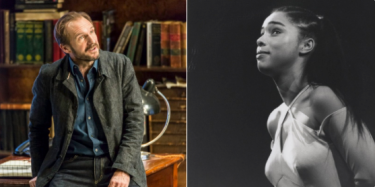 National Theatre Ralph Fiennes and Sophie Okonedo play Antony and Cleopatra respectively.