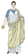 modern revisualisation of the stola, Barbara McManus: http://www.vroma.org/~bmcmanus/clothing2.html