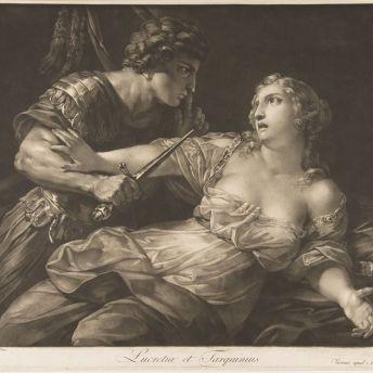 "Johann Peter Pichler, ""Tarquin and Lucretia"", 1792. Image: Metropolitan Museum."